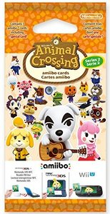 amiibo Karten 3 Stk. Animal Crossing (Vol. 2)