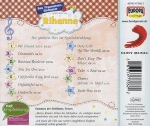 Spielt Hits von Rihanna