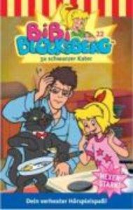 Bibi Blocksberg 22. 3x schwarzer Kater. Cassette
