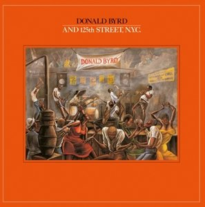 Donald Byrd And 125th Street,N.Y.C.