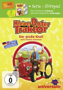 Kleiner roter Traktor 1 DVD/CD Bundle