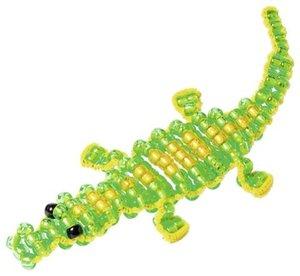 Perlentier Krokodil