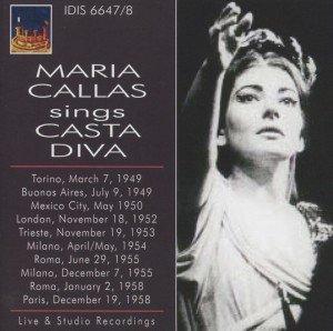 """Maria Callas singt die """"Casta Diva"""""""
