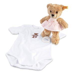 Steiff 239755 - Geschenkset: Schlaf-gut-Bär Spieluhr, 20cm