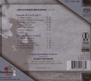 Masur, K: Serenaden op.11 & 16