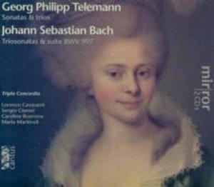 Telemann: Sonatas & trios/Bach: Triosonatas & su