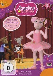 Angelina Ballerina 03. Angelina Tamburina