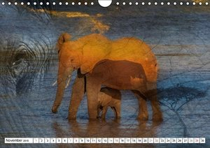 Emotional Moments: African Dreams UK Version (Wall Calendar 2015