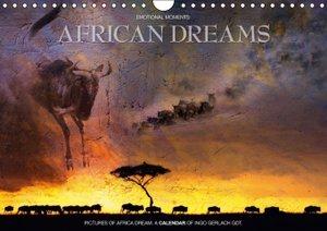 Emotional Moments: African Dreams UK Version (Wall Calendar 2015