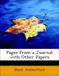 Pages from a Journal with Other Papers