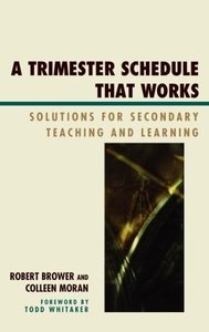 Trimester Schedule That Works