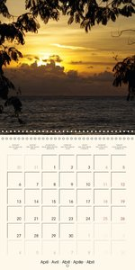 Colors by the Sea (Wall Calendar 2015 300 &times 300 mm Square)