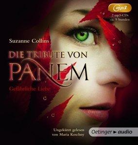 Die Tribute von Panem 2. Gefährliche Liebe (2 mp3-CD)
