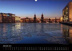 Berlin zur blauen Stunde (Wandkalender 2016 DIN A2 quer)