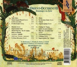 Orient-Occident II - Hommage an Syrien