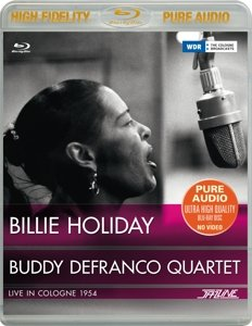 Billie Holiday & Buddy DeFranco Quartet-Live in