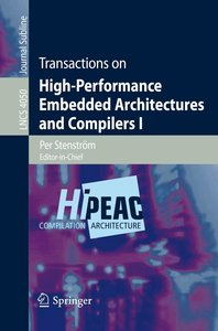 Transactions on High-Performance Embedded Architectures and Comp