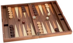 Philos 1144 - Backgammon Kastos, medium, Kassette mit Magnetvers