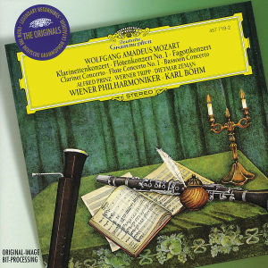Klarinettenkonzert / Flötenkonzert Nr. 1 / Fagottkonzert. Klassi