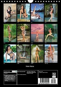 Water Mania (Wall Calendar 2015 DIN A4 Portrait)
