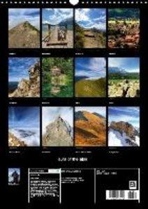 aura of the alps (Wall Calendar 2015 DIN A3 Portrait)