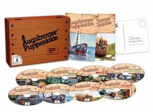 Augsburger Puppenkiste - Holzkiste Sammelbox (8 DVDs)
