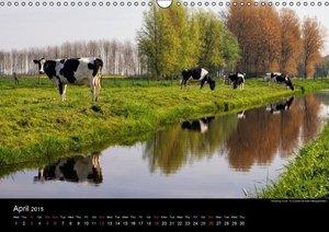 Dutch Landscapes: Alblasserwaard 2015 (Wall Calendar 2015 DIN A3