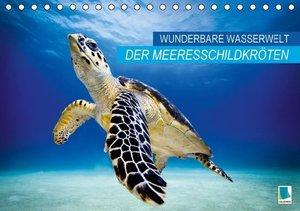 Wunderbare Wasserwelt der Meeresschildkröten (Tischkalender 2016
