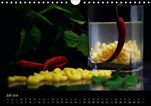 Pasta KreationenCH-Version (Wandkalender 2016 DIN A4 quer)