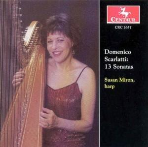 13 Sonaten gespielt auf der Harfe