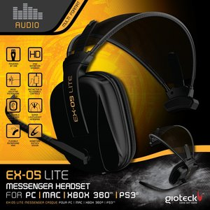 Multi EX-05 Lite Wired Headset (PC, MAC, XB360, PS3)