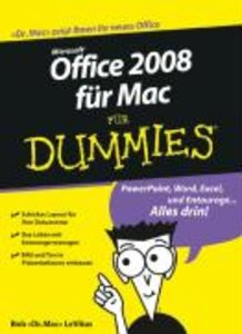Office 2008 für Mac für Dummies