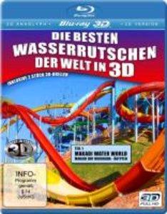 Die besten Wasserrutschen der Welt in 3D (Makadi Water World -