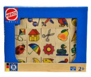 Heros 100072402 - Holz Bilder-Memo Spiel