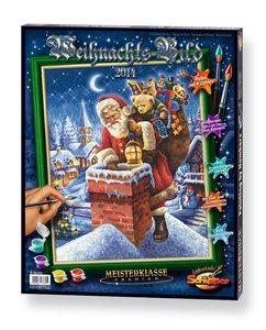 Schipper Malen nach Zahlen - Weihnachtsbild 2014