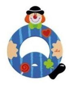 Sevi 81753 - Buchstabe: Clown Q