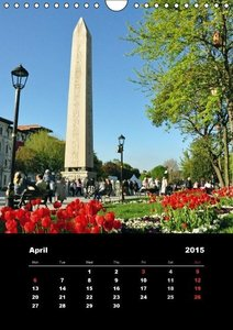 Sultanahmet - Historic Center of Istanbul / UK-Version (Wall Cal
