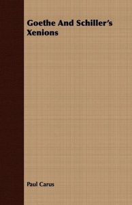 Goethe And Schiller's Xenions