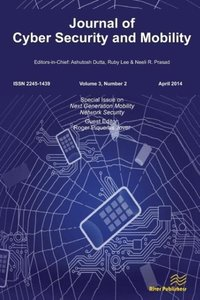 Journal of Cyber Security and Mobility 3-2, Special Issue on Nex