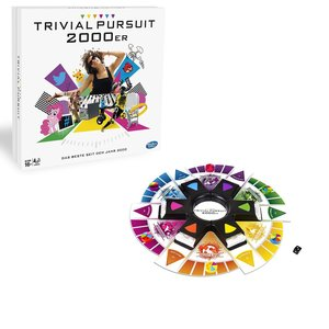 Hasbro B7388100 Trivial Pursuit 2000er Edition