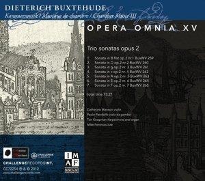 Opera Omnia XV-Chamber music vol.3