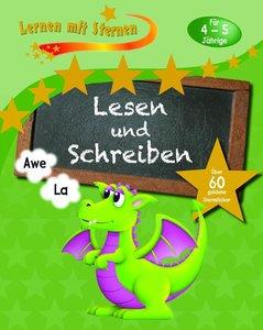 Lernen mit Sternen - Lesen und Schreiben für 4- bis 5-Jährige