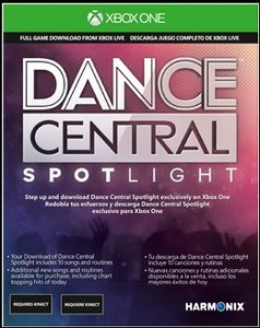 Xbox One Kinect Sensor inkl. Dance Central Spotlight