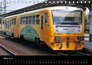 Europäische Eisenbahnen im Auge der Kamera (Tischkalender 2016 D