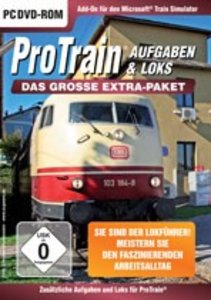 Train Simulator - ProTrain: Aufgaben & Lokomotiven