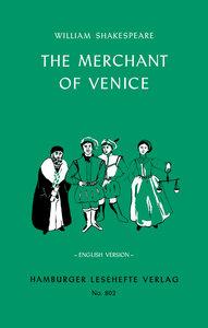 The Merchant of Venice. English Version
