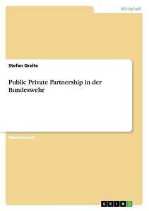 Public Private Partnership in der Bundeswehr
