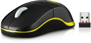 Speedlink SNAPPY Wireless Mouse - Nano USB, BVB-Emblem
