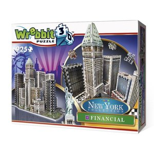 Financial - New York Collection. 3D-PUZZLE