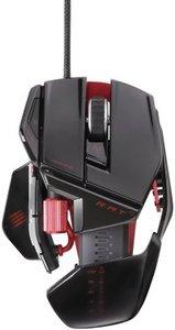 R.A.T. 5 Gaming Mouse, schwarz-glänzend